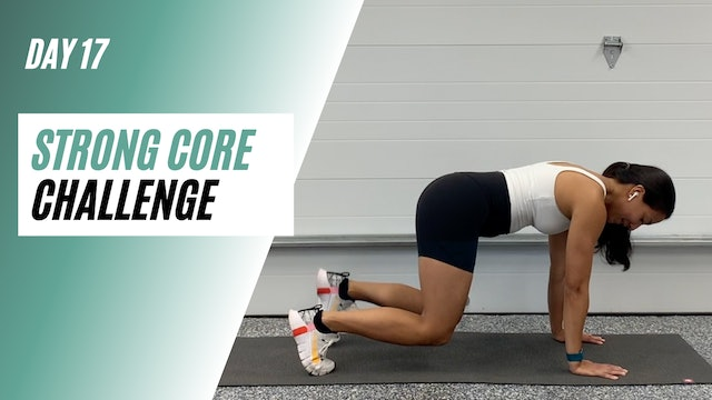 Day 17 of STRONG CORE