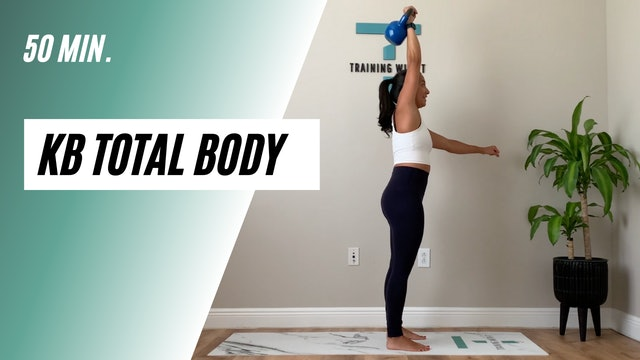 50 min. KB total body