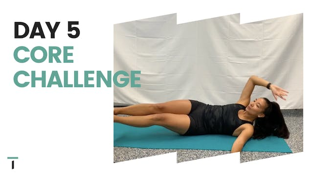 Day 5 of the CORE challenge