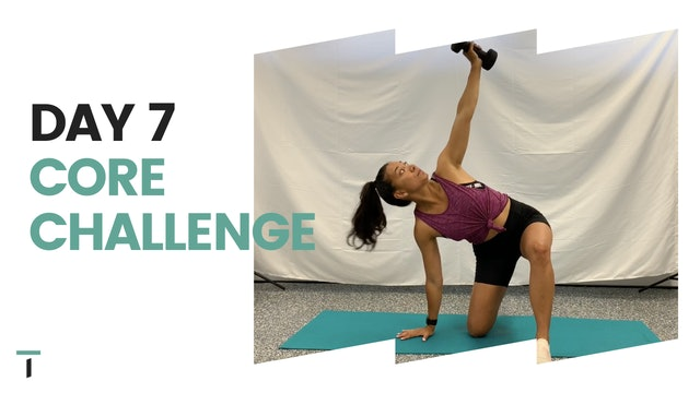 Day 7 of the CORE CHALLENGE