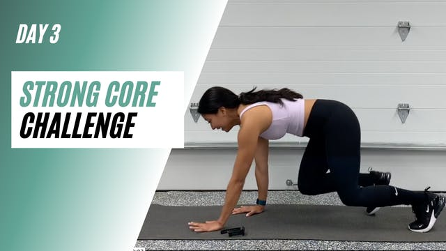 Day 3 of STRONG CORE