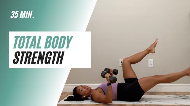 35 min. Total body strength