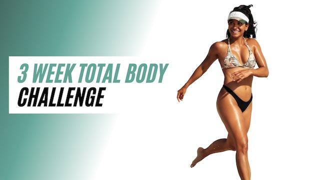 3 week TOTAL BODY CHALLENGE