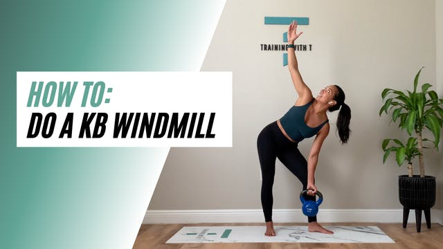 How to do a KB windmill