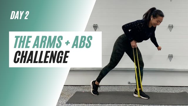 DAY 2 of the ARMS+ABS CHALLENGE
