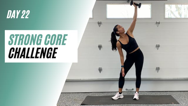 Day 22 of STRONG CORE