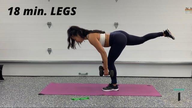 18 min. Legs