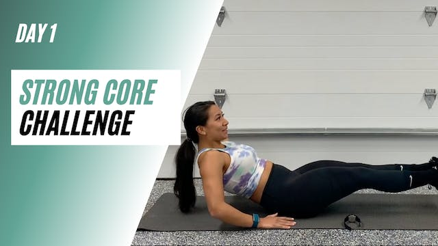 Day 1 of STRONG CORE