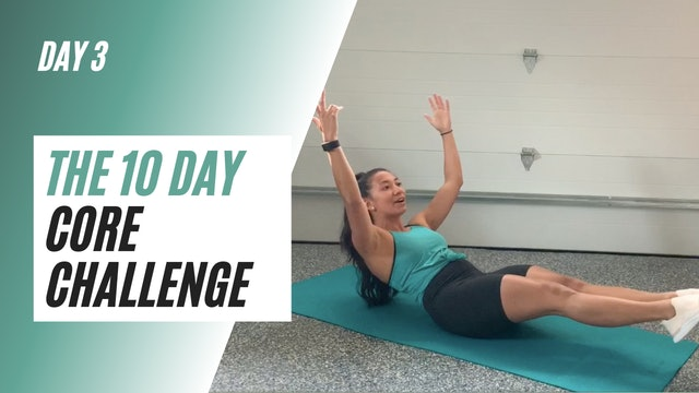 DAY 3 of the CORE CHALLENGE