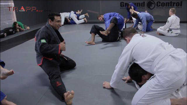 Tiago Rocha at Ground Control Columbia - Deep Half Guard