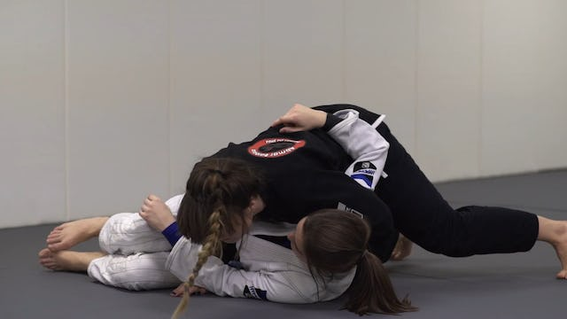 Crossface Grip Knee Cut [BJJ-03-03-06]