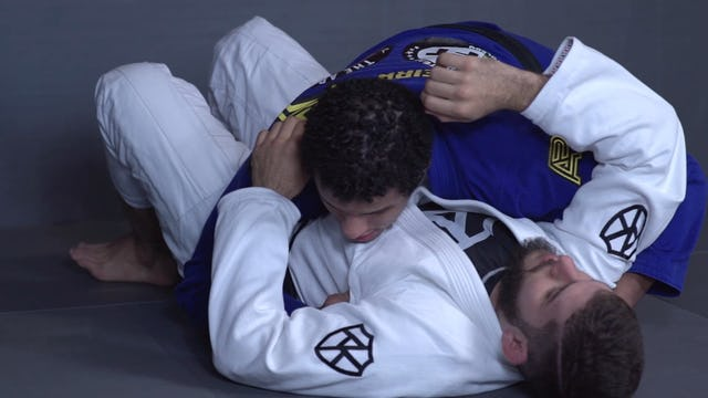 Controlling the Bottom Leg to Pass the Knee Shield  [BJJ-03-03-15]