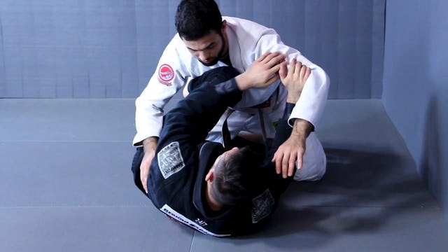 Diving Underneath Sweep [BJJ-04-03-14] FREE