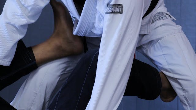 DLR Entry to Single Leg X #1 [BJJ-04-08-06]