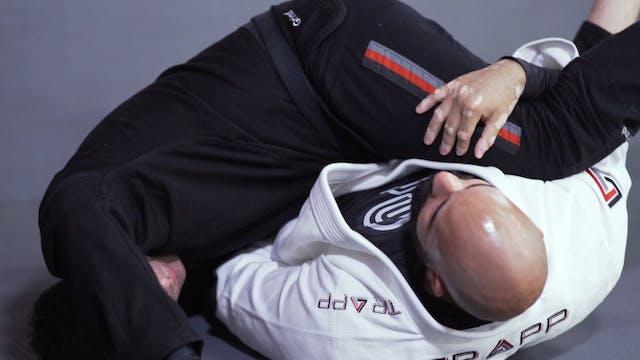 Raspagens quando o oponente tenta amassar a perna