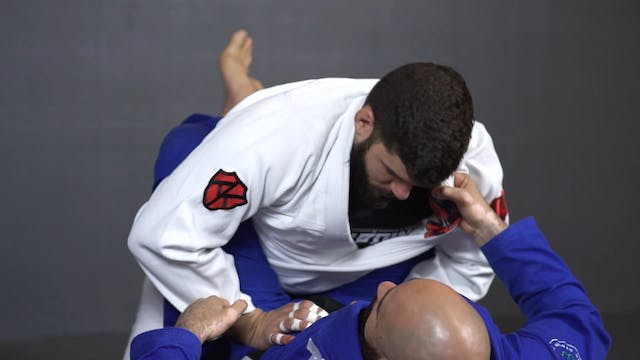 Cross Collar Punch Choke [BJJ-05-01-16]