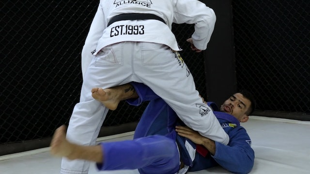 Shin to Shin Entry and Tripod Sweep [BJJ-04-08-14]