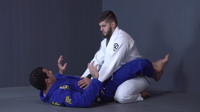 Pendulum Arm Bar Drill [BJJ-05-01-17]
