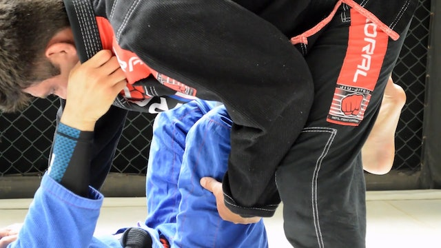 Step Over Defense to X Guard [BJJ-04-07-03]
