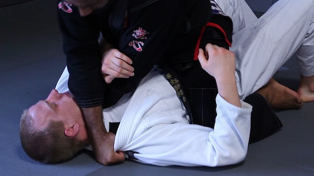 Twist Cross Collar Choke [BJJ-05-09-07]