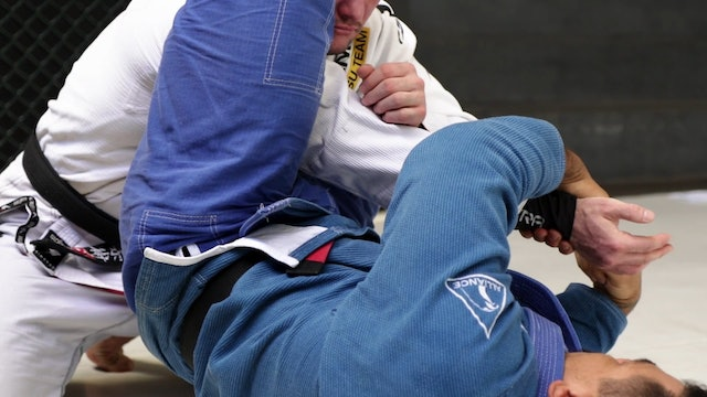 Cross Collar Choke to Arm Bar #2 [BJJ-05-01-13]