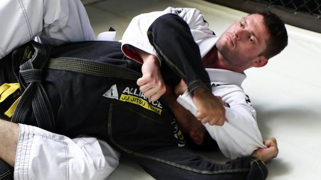 Back Escape to Deep Half Guard #1 [BJJ-06-03-03]