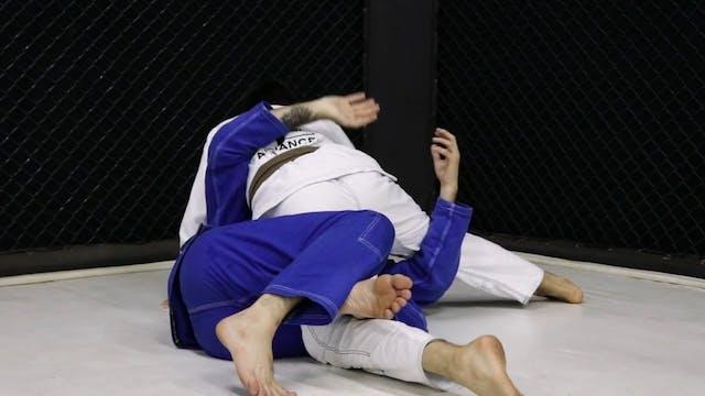 Knee Shield to Keep Bar  [BJJ-05-03-07]