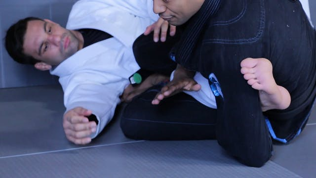 Leg Hook Sweep [BJJ-04-08-09]