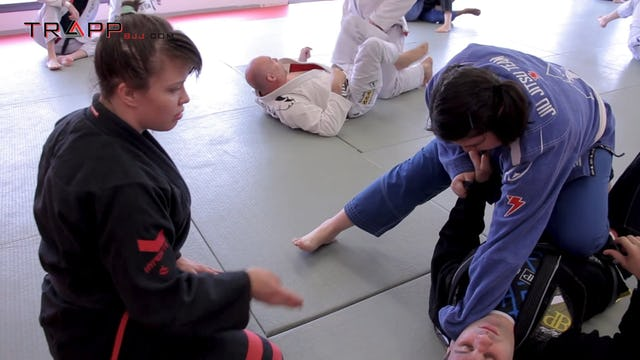 Marysia's Seminar at Alliance PA  - Knee Cut Variations to Pass, Back Take and Submissions