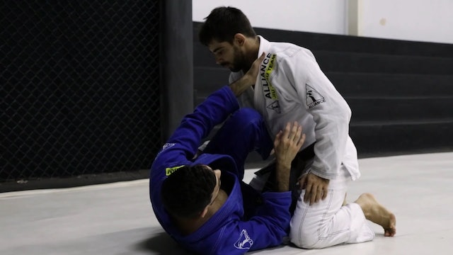 Knee Shield to Deep Half Guard  [BJJ-04-03-28]