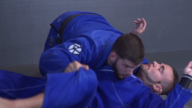Hook Between the Legs to Over Head Sweep [BJJ-04-06-01]
