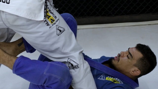 Shin to Shin Entry and Scissors Sweep [BJJ-04-08-15]