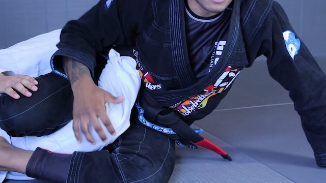 Single Leg X Sweeps Intro #1 [BJJ-04-08-03]