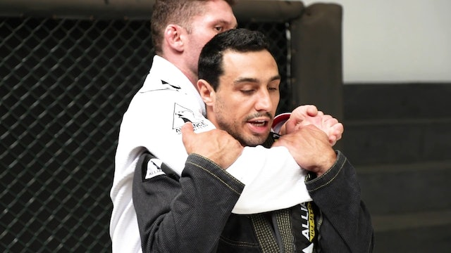 Headlock Defense from Behind [BJJ-01-01-01]