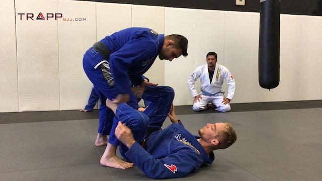 JP Seminat at Snow MMA -  Folder Pass