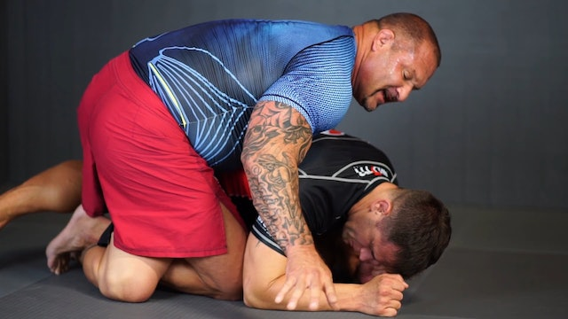 Guillotine from Half Guard [BJJ-05-03-06]