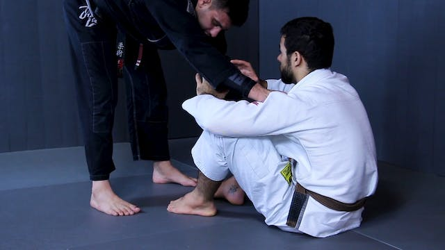 Dribble Pass to Back Step [BJJ-03-09-02]