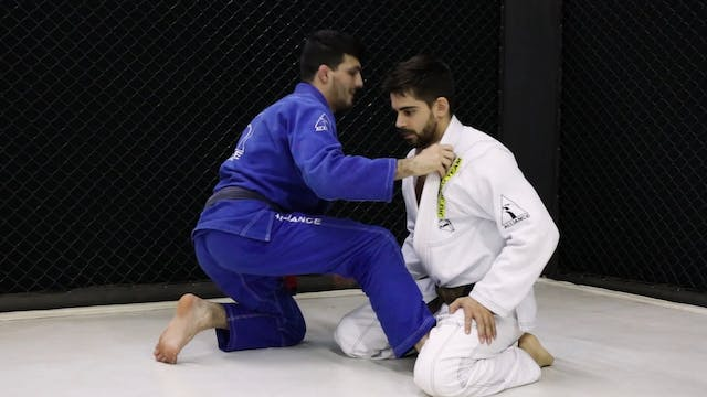 Standing up to Ouchi Gari [BJJ-04-05-04]