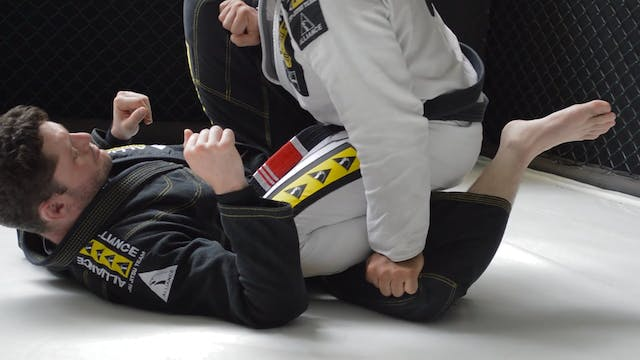 Passing Straight to Mount [BJJ-03-03-01]
