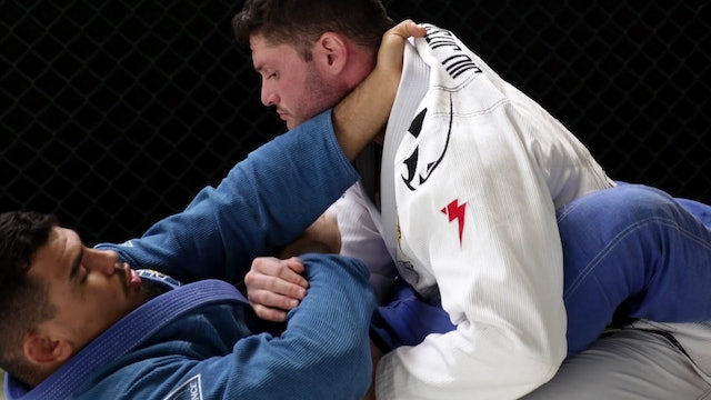 Cross Collar to Diamond Lock Finishing on Arm Bar [BJJ-05-01-15]