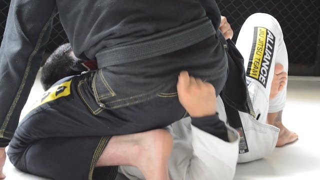 Kicking the Hook to Take the Back [BJ...