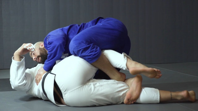 DLR X Hook Sweeping Straight to Month [BJJ-04-02-19]