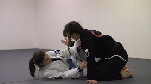 Lapel Grip Knee Cut [BJJ-03-03-07]