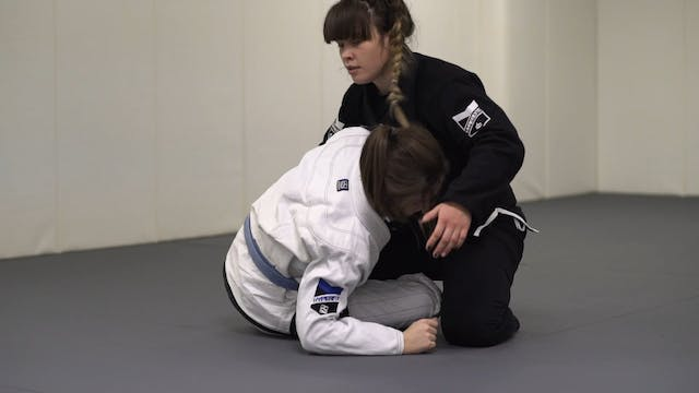 Guillotine from Top Half Guard [BJJ-0...