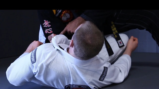 Half Guard to Knee Cut Pass [BJJ-03-03-05]