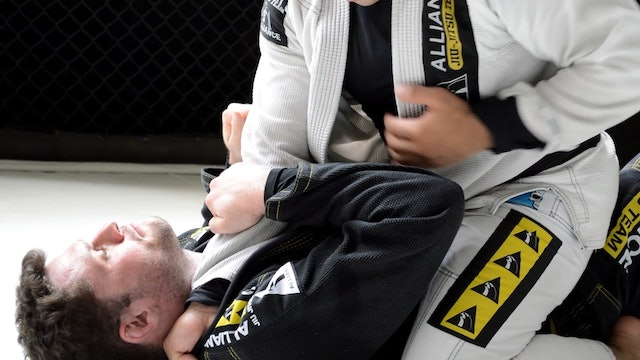 Cross Collar Choke to Arm Bar [BJJ-05-09-03]
