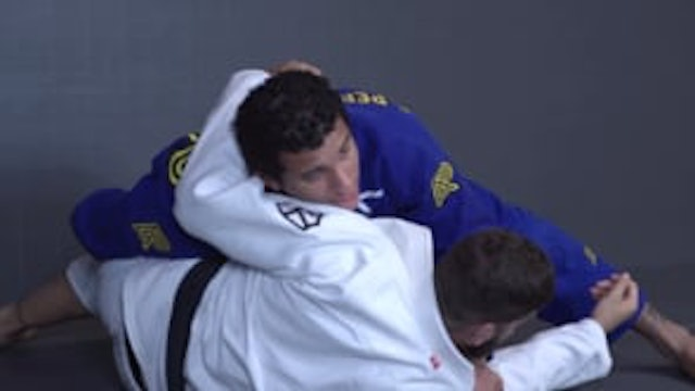 Clearing the Knee Shield to Shoulder Pressure Pass [BJJ-03-03-14]