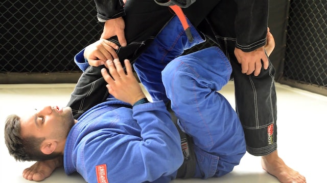 Sweeping to Leg Drag [BJJ-04-07-06]