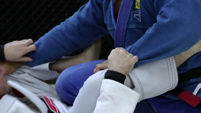 Shin to Shin Entry and Twist Sweep [BJJ-04-08-13]
