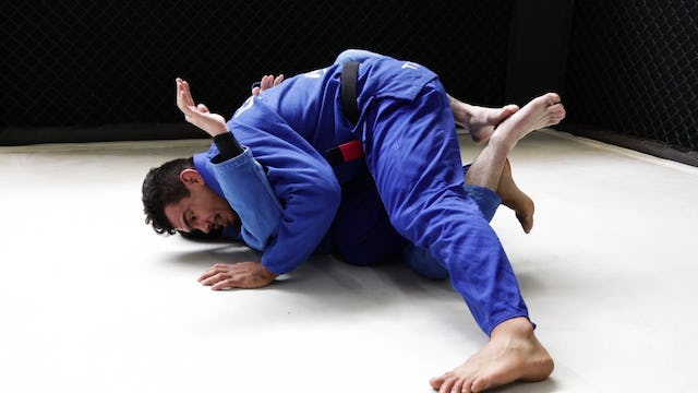Knee Cut to Double Under Hook to Mount [BJJ-03-02-07]